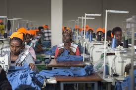 africans sewing