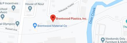 map of brentwood plastics location