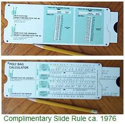 Complimentary Slide Rule