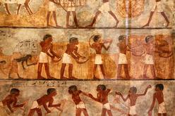 ancient pyramid art