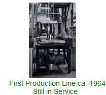 photo image of Brentwood Plastics first blown film production line